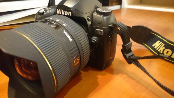 Nikon D70。昔の一眼レフを使ってみる