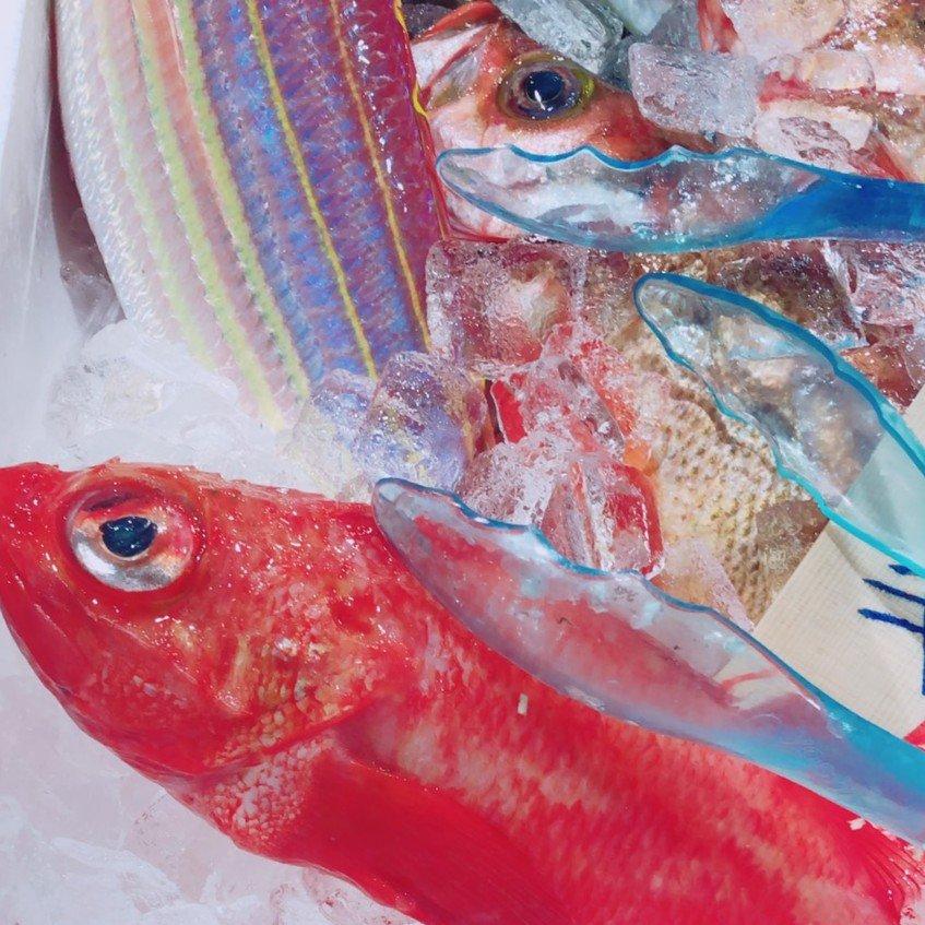八百幸成城店の鮮魚コーナー2