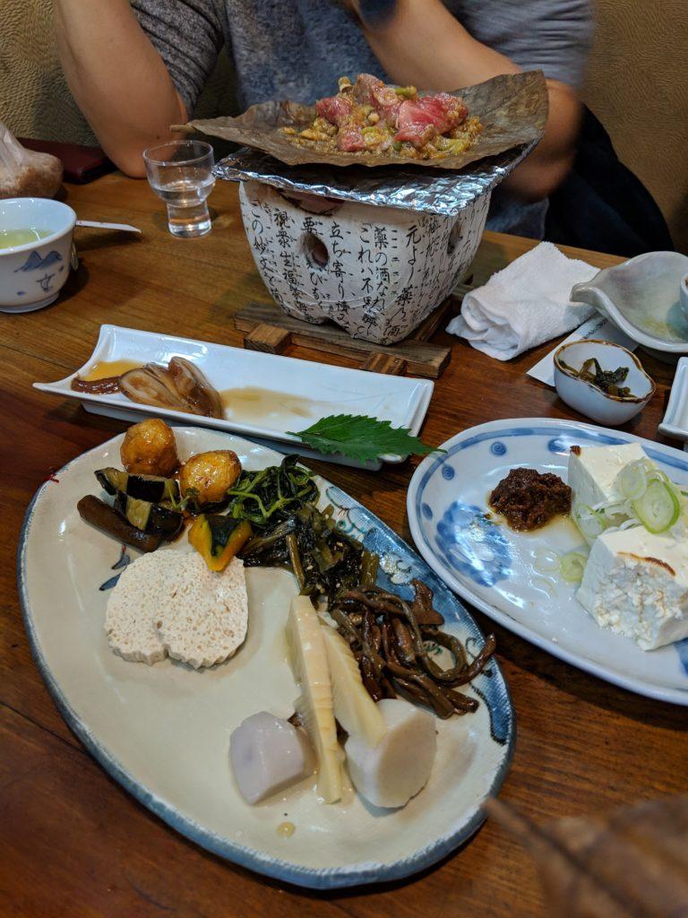 飛騨高山の「京や」の郷土料理