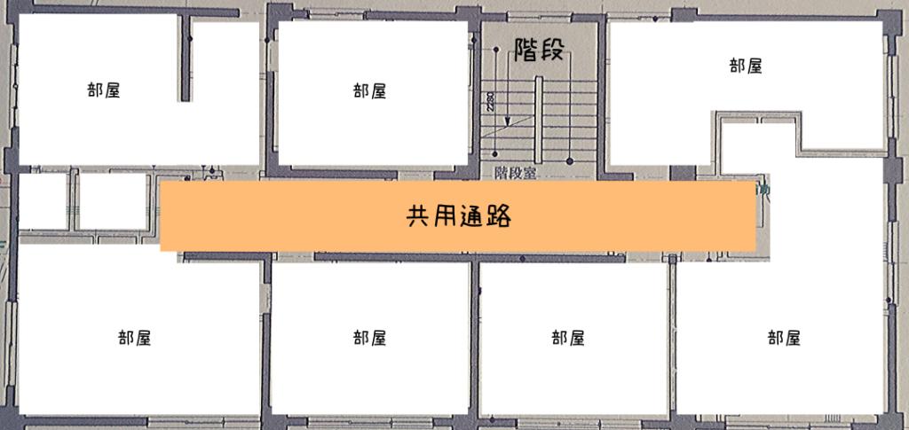 箱根リノベマンション。1フロアのレイアウト概要