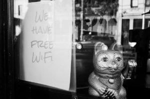 賃貸にもFree wifiがあると嬉しい