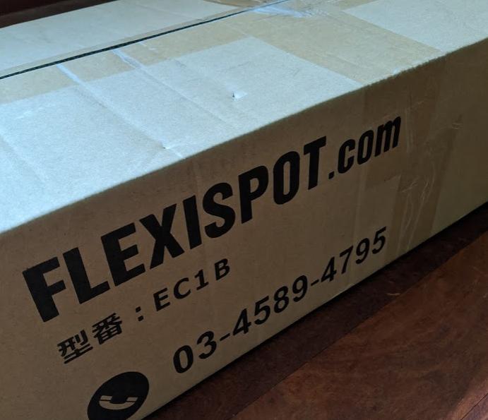 Flexispot (天板別売)の箱