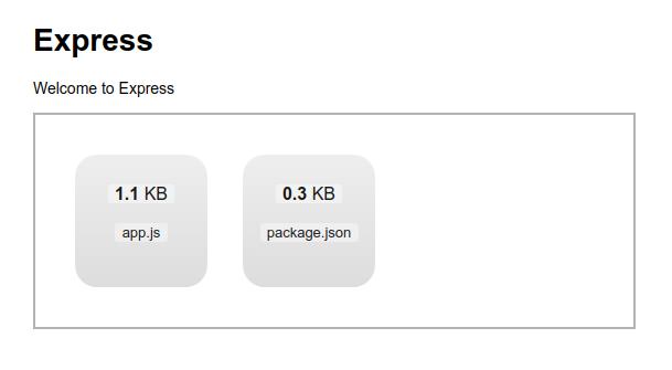 Express上でdropzoneとmulterを使ってdrag&dropを実現したアプリ画面