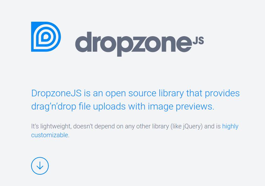 dropzoneのサイトより転載
